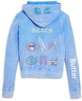 Butter Shoes Girls' Beach Hoodie - Big Kid