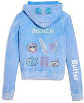 Butter Shoes Girls' Beach Hoodie - Sizes 4-6