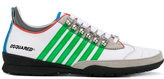 DSQUARED2 striped 251 sneakers - men - Leather/rubber - 42