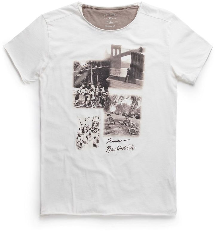 MANGO Men's Summer photo print t-shirt