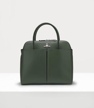 Vivienne Westwood Florence Medium Handbag Green