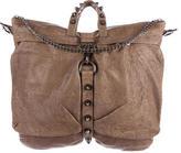 Thomas Wylde Stud Embellished Weekender Bag