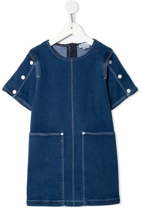 Stella McCartney Denim Shift Dress
