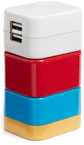 Flight 001 5-In-1 Universal Travel Adapter - Red