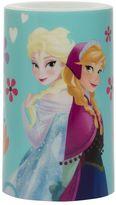 """3"""" x 5"""" Disney's Frozen Elsa & Anna Flameless Pillar Candle"""