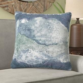 French Connection Seigler Decorative Throw Pillow Color: Ocean Blue