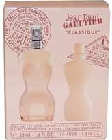 Jean Paul Gaultier Classique by for Women- 2 Pc Gift Set- 1.6oz EDT Spray- 1.3oz Perfumed Body Lotion