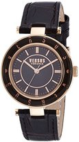 Versus By Versace Versus Logo Women's Analogue Watch with Brown Dial Analogue Display - SP817 0015