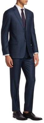 Emporio Armani Dot Wool Suit