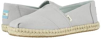 Toms Alpargata (Oatmeal Melange Felt/Faux Shearling) Women's Shoes