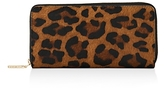 Whistles Leopard Print Large Calf Hair Wallet