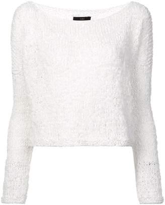 Voz Twist cropped sweater