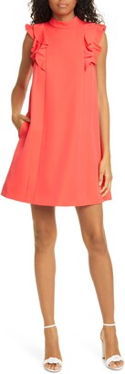 Ted Baker Sunrey Ruffle Swing Shift Dress