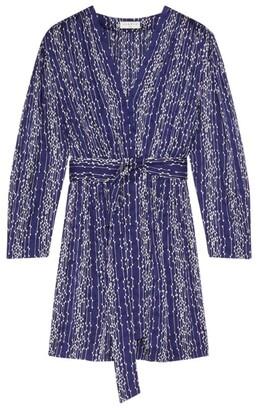 Sandro Woven Mini Dress