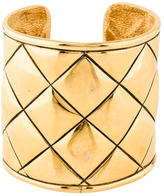 Chanel Quilted Cuff Bracelet