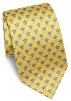 Salvatore Ferragamo Bear Silk Tie