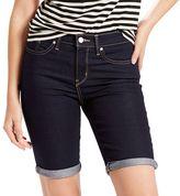 Levi's Women's Cuffed Jean Bermuda Shorts