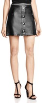 The Kooples Leather Mini Skirt