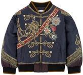 Dolce & Gabbana Waterproof bomber jacket