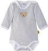 Steiff Unisex Baby 0008743 1/1 Sleeves Polka Dot Bodysuit