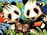 Royal & Langnickel Painting by Numbers Junior Large Art Activity Kit, Endangered Animals
