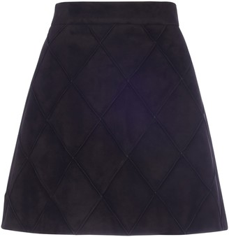 Miu Miu Quilt Mini Skirt