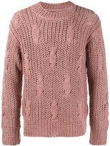 Maison Margiela fisherman knit jumper - men - Silk - S