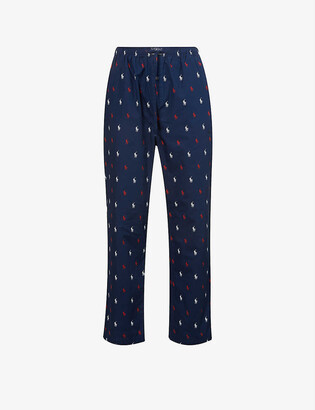 Polo Ralph Lauren Brand-print relaxed-fit cotton pyjama bottoms
