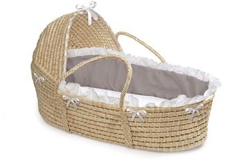 Badger Basket Natural Hooded Moses Basket