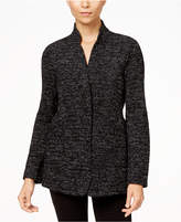 Eileen Fisher Organic Cotton Stand-Collar Blazer, Regular & Petite