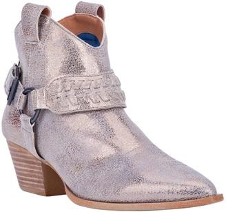 Dingo Leather Pull-On Booties - Keepsake