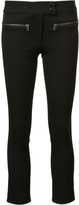 Veronica Beard Slim-Fit Cropped Trousers
