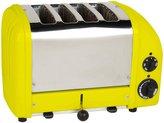 Dualit 4-Slice Classic Toaster, Citrus Yellow - Citrus Yellow