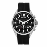 Kenneth Cole New York Male Quartz Watch with Silicone Strap Black 22 (Model: RK50812001)