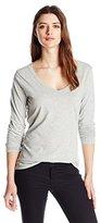 Threads 4 Thought Women's Vanessa Long-Sleeve V-Neck T-Shirt