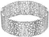 Lauren Conrad Silver Tone Filigree Stretch Bracelet