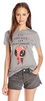 Marvel Juniors Chimichangas Deadpool Graphic Tee