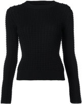 Oscar de la Renta chunky-knit sweater