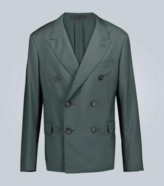 Lanvin Double-breasted wool-blend blazer