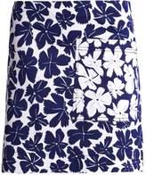 Ports 1961 Aline skirt white/blue