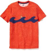 Old Navy Wave-Graphic Crew-Neck Tee for Boys