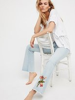 Driftwood Eva Embroidered Flare by at Free People
