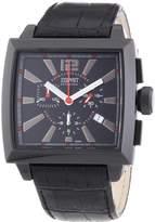 Esprit EL101031F02 - Men's Watch, Leather, Black Tone