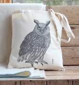 Bird Eagle Owl Canvas Handy Bag