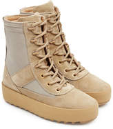 Yeezy Suede Boots with Mesh