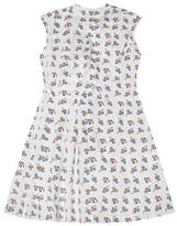 Marni Sleeveless Square Print Dress