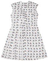 Marni Sleeveless Square Print Dress