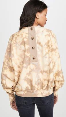 Bassike Motely Fleece Sweatshirt
