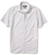Banana Republic Camden-Fit Custom Wash Short-Sleeve Shirt