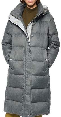 Andrew Marc Waldwick Brushed Puffer Coat